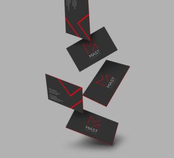 Business Cards + Design for Print | MAST Architects Logo Design + Rebrand | Website Design | Digital Marketing Agency | See Saw Creative | Design Agency