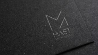 Print Design Business Cards | MAST Architects Logo Design + Rebrand | Website Design | Digital Marketing Agency | See Saw Creative | Design Agency