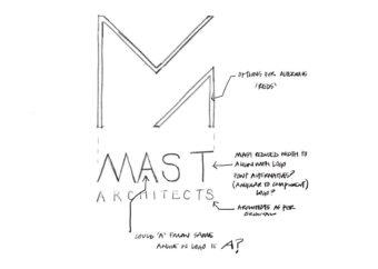 Logo Development + Design | MAST Architects Logo Design + Rebrand | Website Design | Digital Marketing Agency | See Saw Creative | Design Agency