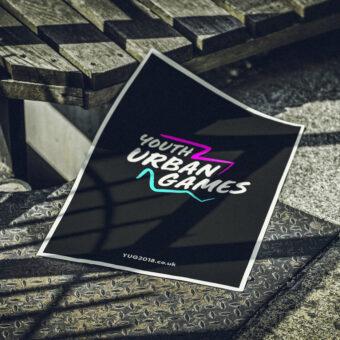 Youth Urban Games Graphic Design + Branding | Design for Print | Poster Design | See Saw Creative | Design + Digital Marketing Agency